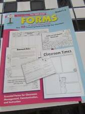 'Forms at Your Fingertips'~The Mailbox~Grades 1-6~/Teacher Resource