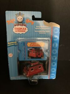 Thomas The Train Take Along Sodor Line Caboose & Collector Card 2006 New