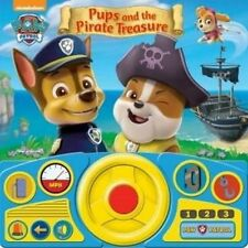 PAW Patrol - Pups & the Pirate Treasure Steering Wheel Book by Phoenix...