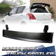Unpaint For Suzuki Swift 2nd M Type Rear Trunk Spoiler ZA11S ZD21S 2011