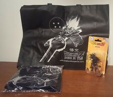"DRAGONBALL Z ""GOKU"" SDDC LOYAL SUBJECTS EXCLUSIVE BLACK VINYL FIGURE +2 BONUS!!!"