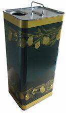 Latta lattine tanica banda stagna per olio con tappo 1 3 5 10 lt