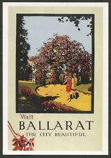 "AUSTRALIA: Historical travel poster ""VISIT BALLARAT"" by Fay Plamka [1993]"