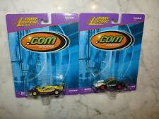 1999 Lot 2 Johnny Lightning Yahoo Indy Car, Playing Mantis Funny Car .Com Racers