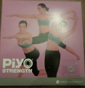 PiYO Live Round 29 DVD Workout Fitness Exercise Pilates Yoga CD Core Strength