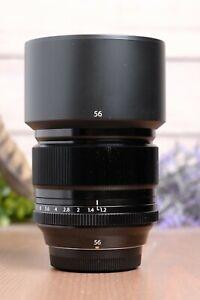 Fujifilm Fujinon XF 56mm F/1.2 Lens with Hood and Caps - B+W UV Filter
