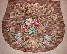 EP 10553 Vintage Bucilla Large Floral Purse Tramme Needlepoint Canvas