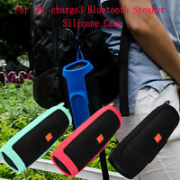 For JBL charge 3 Bluetooth Speaker Portable Mountaineering Silicone Case Cover