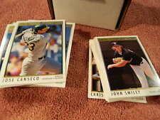 """1992 O-PEE-CHEE """"Premier"""" Complete Baseball Card Set (1-198) - Rare!"""
