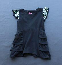 Circo Girls Short Sleeve Black Dress with Purple Sparkles Size S/P 6/6
