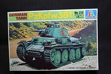 XU007 ITALERI 1/35 maquette tank char 212 German Tank PZKPFW 38(t)