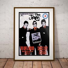 More details for the jam 1977 'hope & anchor gig' three print options or framed poster exclusive