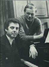 1979 Paris Dietrich Fischer-Dieskau Daniel Barenboim Schubert Lieder programme