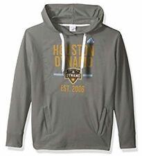 Adidas Women's Houston Dynamo Fleece Sweatshirt Hoodie Jersey Soccer Large L MLS