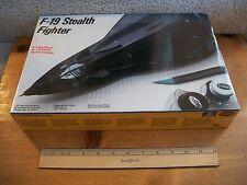 Testors Italeri 1/48 F-19 STEALTH FIGHTER NIB/Sealed-Mint 1986 Kit #595
