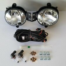 For 2004-2006 Dodge Durango RAM Clean Fog Light Replacement +Switch Bulbs Wiring