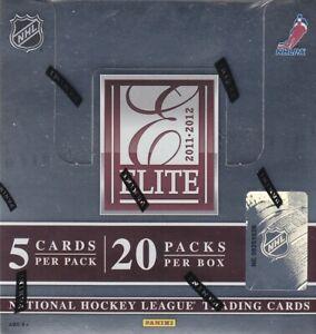 2011-12 Panini Elite Hockey Hobby Box