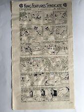 Walt Disney Planche originale Française Mickey