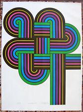 Rogelio Polesello Surmadalismo Silkscreen Latin American Art 1970 Argentina