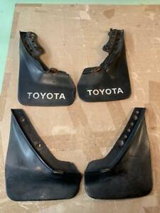 OEM Toyota Corolla AE86 COUPE mudflap set Splash Guard Slosh Fender Protector