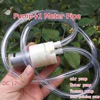 New DC 12V High Pressure Diaphragm Self Priming Vacuum Air Water Pump Suction