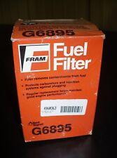 Fram Fuel Filter, G6895, New