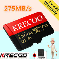 Memory Card 256GB Micro Class10 Fast Flash 275MB/s TF 4K For Phone Camera Tablet