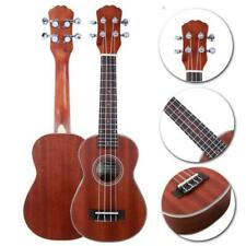 "New 21"" Exquisite Sapele Soprano Ukulele with Rosewood Fingerboard Natural"