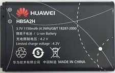 BATTERIA ORIGINALE HUAWEI hb5a2h aqqu FR-Mobile Pulse T Mini u7510 u7519 e5220 TAP