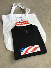 This is not Supreme Medium M Black July 4th Tee Some Notice Some Know This