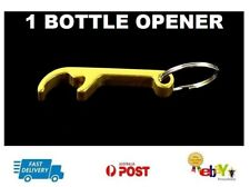 Gold Bottle Opener Key Chain Keyring Home Bar Tool Beer Claw Metal Cap Remover