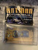 BATMAN AUTOMOBILIA EAGLEMOSS ISSUE 10 BATMAN #311 SERIES VEHICLE MODEL CAR + MAG