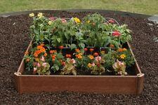Single Raised Garden Bed Kit Outdoor Planter Grow Box Vegetables Herbs Flowers