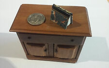 Borrower's Press miniature book HIGH WATER MARK Illustrated/signed Excellent!