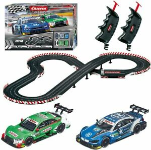 Carrera Evolution DTM Ready to Roar Slot Car Racing Race Set 25237 NEW