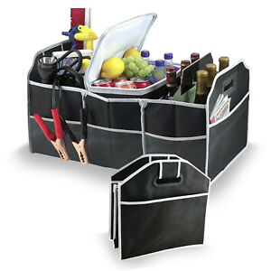 Foldable and Collapsible Car Boot Organising Storage Unit   30.5 x 58.5 x 35cm
