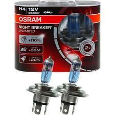 OSRAM NIGHT BREAKER UNLIMITED XENON LOOK H4 12V 60/55W +110% P43t DUO-BOX P93