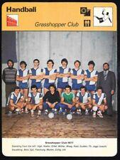 1978 Sportscaster Card Handball Rumania # 31-09 NRMINT/MINT.