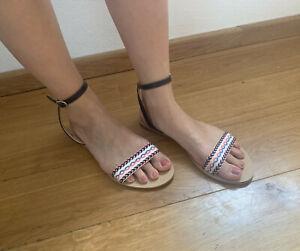 Pepe Jeans Sandale Sandalen Damen Schuhe * Gr.40 * wie NEU