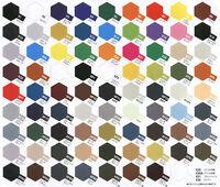 6 x Tamiya Acrylic Paints (10ml pot) - Choose Your Colours - 'X' and 'XF' range