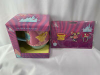 2020 Disney Minnie Mouse The Main Attraction Mad Tea Party March Mug & Pin Set