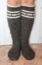 MEN's Socks LEG WARMERS goat down very thick very warm XXXL hunting fishing
