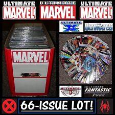 Ultimate Marvel Comics HUGE *66-Issue Lot* | Spider-Man X-Men Avengers Iron Man