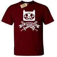 YE ADVENTURER T-Shirt Mens pirate time skeleton adventure skull crossbones