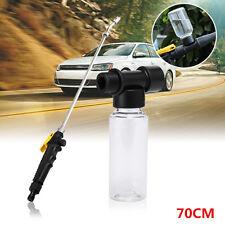 70CM Spray Gun Lance + Foam Soap Bottle Power Water Jet Hose Nozzle Washer