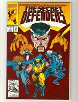 The Secret Defenders #1 March 1993 Marvel Foil Comic Book (NM) Near Mint