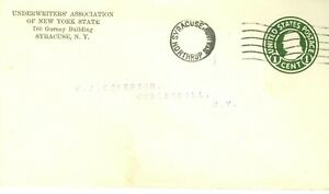Envelope Underwriters Association of New York Syracuse NY to Cobleskill NY
