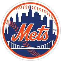 """New York Mets MLB Color Vinyl Decal / Sticker - You Choose Size 2""""-28"""""""