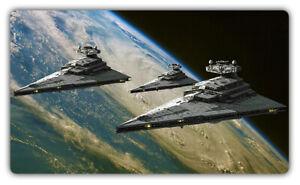 F3605 Free Mat Bag Star Wars Star Destroyer Card Game Playmat CCG Mat Desk Mat