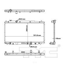 Radiator-Assembly TYC 13068 fits 09-13 Honda Fit